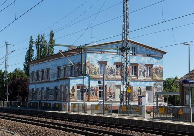 Die Prignitz Bahnhofsquartier Bad Wilsnack