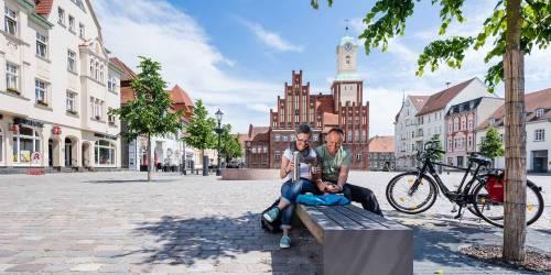 Radroute Historische Stadtkerne 2